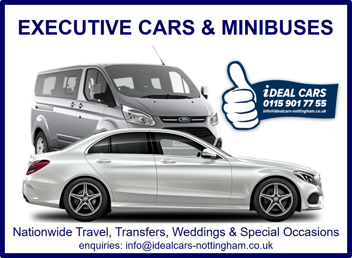 IDEAL CARS – EXECUTIVE DIVISION | Ideal Cars - Nottingham
