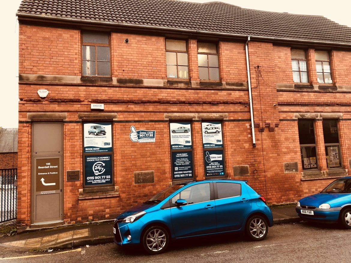 IDEAL CARS – NEW, LARGER OFFICES | Ideal Cars - Nottingham